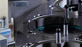Poste de montage de cylindre, table ronde