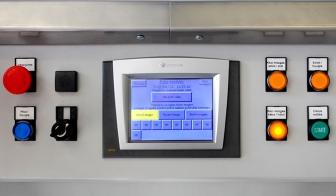 Panneau de commande du contrôleur de fuite